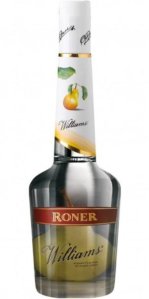 Edeldistillerie Roner, RONER Williams Christ Birnenbrand 38% mit ganzer Birne