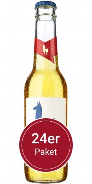 Super-Sparpaket 24 Flaschen Mari Holunder - Join the Lama - natürlicher Weincocktail
