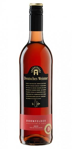Deutsches Weintor, Dornfelder Rosé halbtrocken, QbA Pfalz