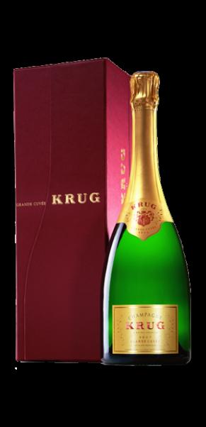 Champagner Krug Grande Cuvée, 0,75-l-Fl. in Geschenkpackung
