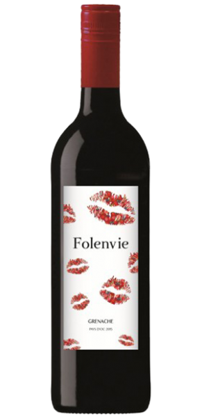 Folenvie BISOUS, Grenache Rouge, Vin de Pay's d´Oc
