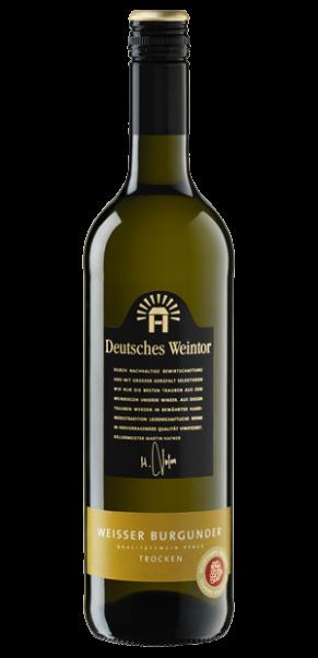 Deutsches Weintor, Weißer Burgunder trocken, QbA Pfalz