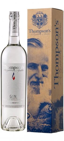 Thompson's Finest Eaux de Vie Bordeaux, Thompson's bordelais grape Gin 43%