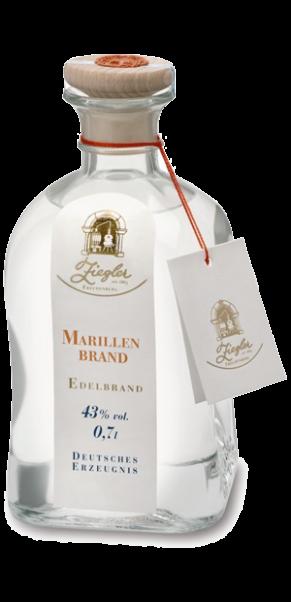 0,7-l-Fl, Brennerei Ziegler, Marillenbrand ( Aprikose) 43%