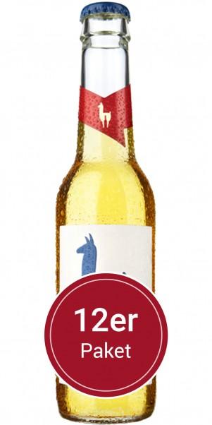 Sparpaket 12 Flaschen Mari Holunder - Join the Lama - natürlicher Weincocktail