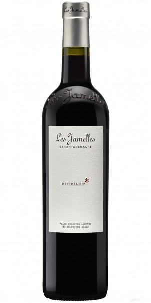 Les Jamelles, MINIMALIST Syrah-Grenache, Vin de Pays d´Oc - Wein ohne Sulfite