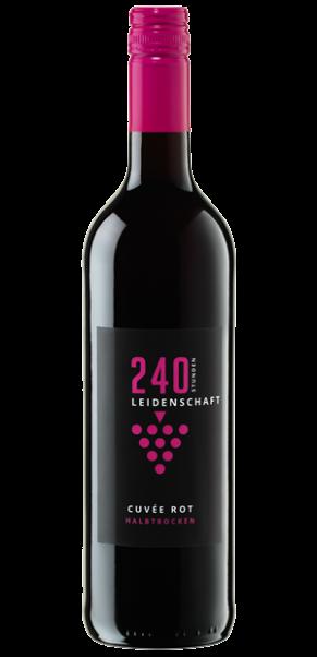Deutsches Weintor, 240 Stunden Leidenschaft Cuvee Rot halbtrocken, Deutscher Wein