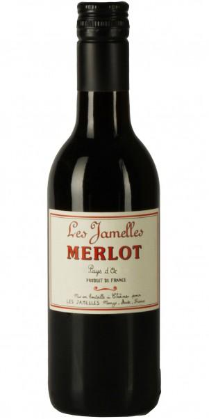 Les Jamelles, Merlot, Vin de Pays d´Oc 0,25 Liter