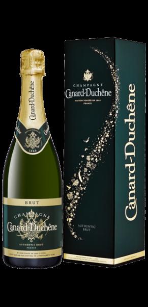 Champagner Canard Duchene, Authentic Brut, AC Champagne