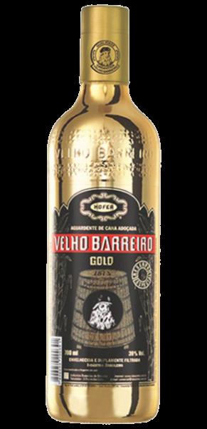 Velho Barreiro Cachaca GOLD DELUXE 39%