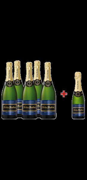 Probierpaket Champagner Nicolas Feuillatte, AC Champagne Brut