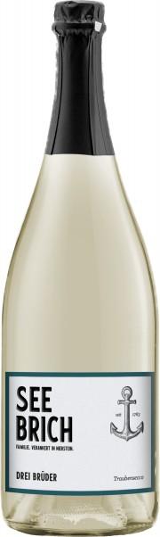 Weingut Seebrich, Drei Brüder, Secco alkoholfrei, Qualitätstraubensaft Rheinhessen