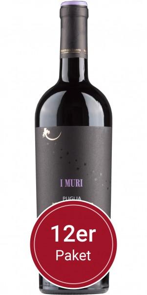Sparpaket: 12 Flaschen Vigneti del Salento, I Muri Primitivo, IGP Puglia