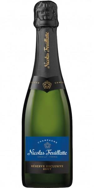 0,375-l-Fl. Champagner Nicolas Feuillatte, AC Champagne Brut - halbe Flasche