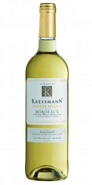 Kressmann, Grande Reserve Bordeaux Blanc medium-sweet Moelleux, AC Bordeaux