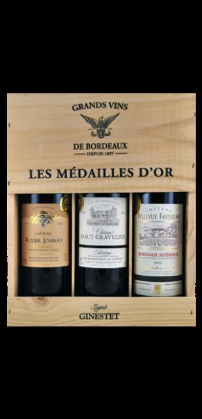 "3er Holzkiste ""Selection Grand Vin de Bordeaux 2012"""