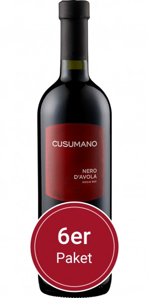 Sparpaket: 6 Flaschen Cusumano, Nero d'Avola, IGT Sicilia
