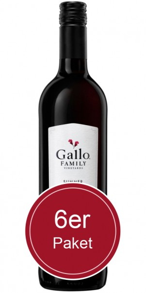 6 Flaschen Gallo Family Vineyards, Summer Red, Kalifornien
