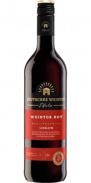 Deutsches Weintor, Rot lieblich, QbA Pfalz