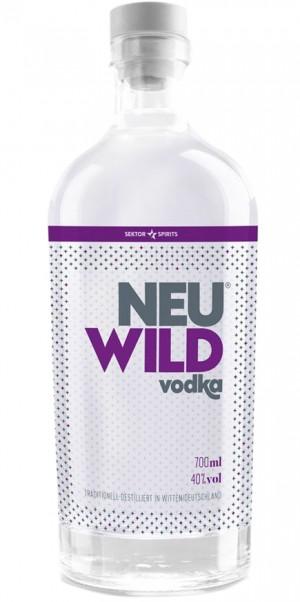 Sektor Spirits, NeuWild Vodka 40%