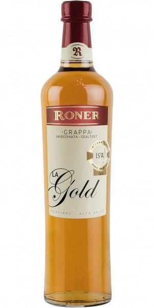 Edeldistillerie Roner, RONER Grappa La Oro / Gold 40%
