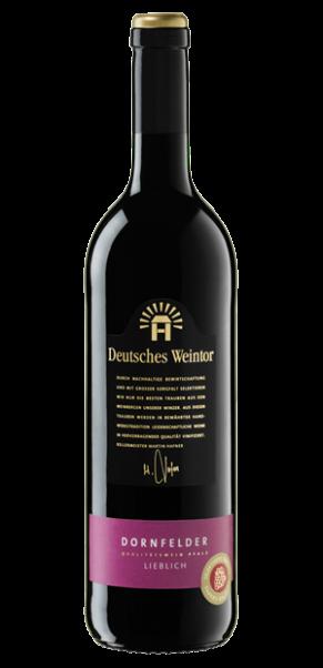 Deutsches Weintor, Dornfelder lieblich, QbA Pfalz
