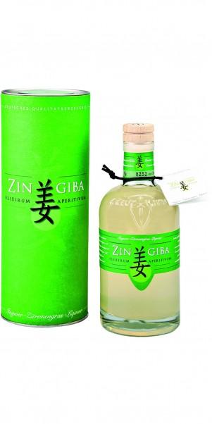 Zingiba, Ingwer-Zitronengras Likör 0,50 l in Geschenkdose