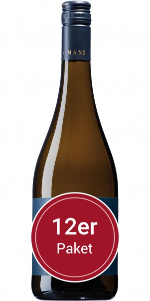 Sparpaket: 12 Flaschen Manz, Grauburgunder, QbA Rheinhessen
