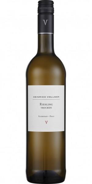 Weingut Heinrich Vollmer, Riesling trocken, QbA Pfalz