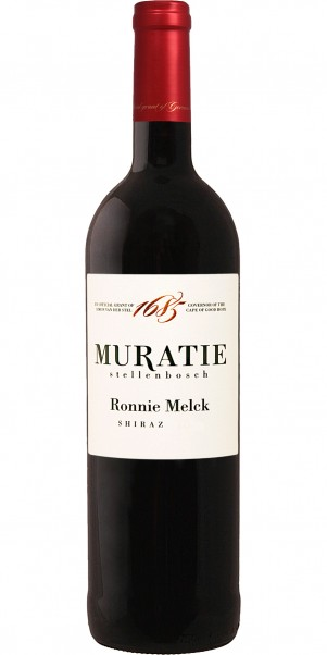Muratie Estate, Ronnie Melck Shiraz, Stellenbosch