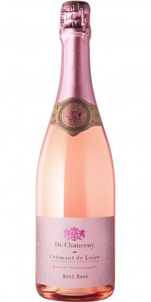 Crémant de Loire Rosé, De Chanceny Brut, AC Loire