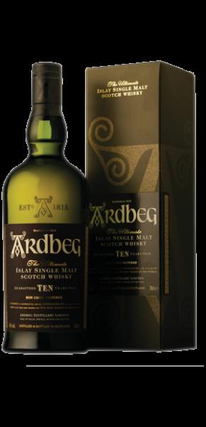 Ardbeg 10 Jahre, Islay Malt Whisky, 46%