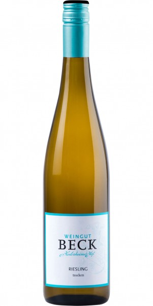 Weingut Michael Beck, Riesling Gutswein trocken, Qba Rheinhessen