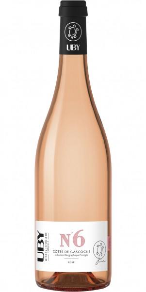Domaine Uby, N° 6 Rosé, IGP Cotes de Gascogne