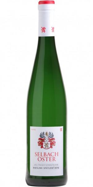 2015er Weingut Selbach Oster, Zeltinger Sonnenuhr Riesling, Spätlese* Mosel