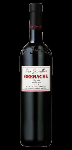 Les Jamelles, Grenache Rouge, Vin de Pays d'Oc