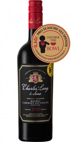 Charles Lang & Sons, Malbec Cabernet Sauvignon Sangiovese, Western Cape