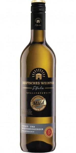 Deutsches Weintor, Grau/Weißburgunder, Edition Mild, QbA Pfalz