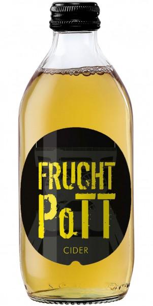 FRUCHT PoTT, Apfel Cider, apfelweinhaltiges Getränk - Premium Cider 0,33 l