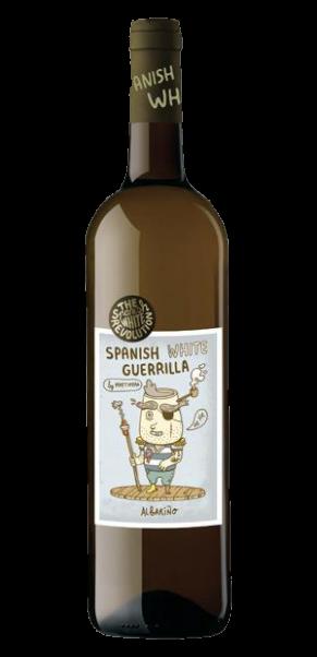 """Spanish White Guerilla, Albarino """"The White Revolution"""", VDM, Valles de Sadacia (Rioja)"""