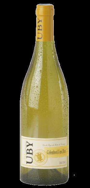 Domaine Uby, Colombard Ugni Blanc, Vin de Pay's des Cotes de Gascogne