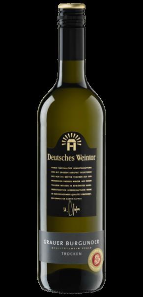 Deutsches Weintor, Grauer Burgunder trocken, QbA Pfalz