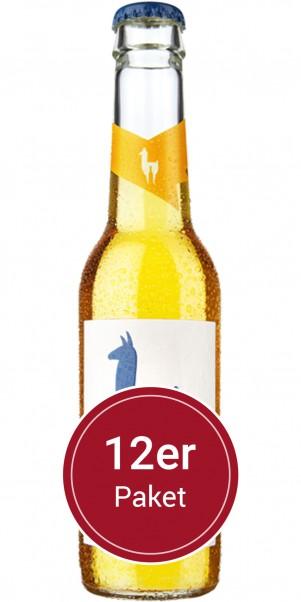 Sparpaket 12 Flaschen Mari Ingwer - Join the Lama - natürlicher Weincocktail