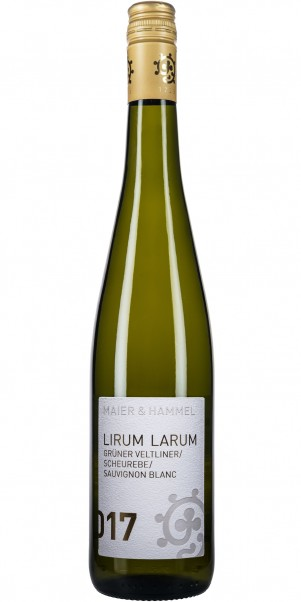Weingut Hammel & Cie, LIRUM LARUM Cuvée Weiss, QbA Pfalz